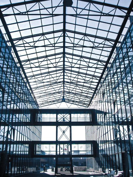 glass hall: glass hall