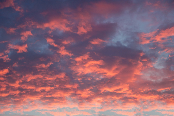 sky with red clouds: sky with red clouds
