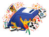 Games 1: A couple of illustrations with games.Please visit my gallery at:http://www.stockxpert.com ..