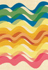 Pastel Waves 1: Variations on a pastel wave pattern.