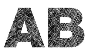 A and B: Distressed Letters.Please visit my stockxpert gallery:http://www.stockxpert.com ..