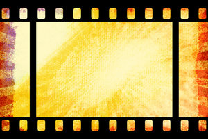 Grunge Film 1: Variations on a grunge film background texture.