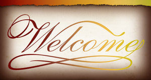 Welcome Banner 1: Variations on a welcome banner.