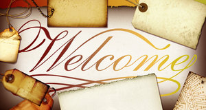 Welcome Banner 5: Variations on a welcome banner.