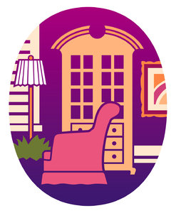 Furniture Icon: A household furnishings graphic.Please support my workby visiting the sites wheremy images can be purchased.Please search for 'Billy Alexander'in single quotes atwww.thinkstockphotos.comI also have some stuff atwww.dreamstime.com/Billyruth03_portfolio_pg1