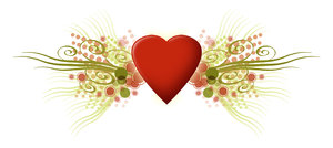 Love Graphic: A vintage love graphic.