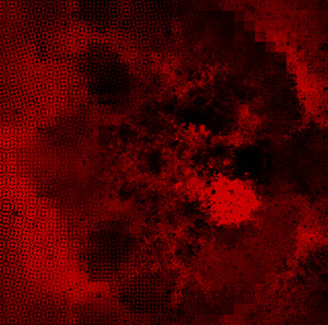 Red Grunge 5: Variations on a grungy red abstract texture.