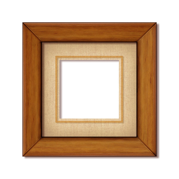 Wood Frame 1: Variations on a wood frame. Please visit me at Dreamstime: 