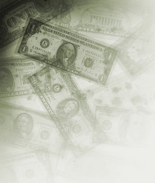 Grungy Money 4: Variations on a grungy money texture.