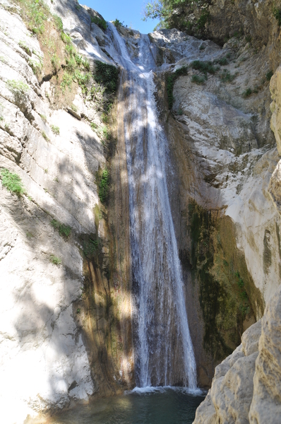 Rachi Waterfalls 3: Rachi waterfalls nearby the city Nidri on the island Lefkada / Lefkas , Greece