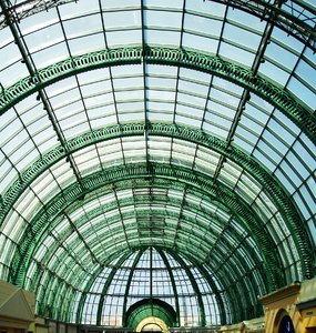 Glass Roof: glass roof