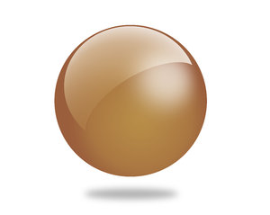 Glossy Ball 3: Set of different colored gloss ball illustrations