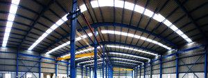 Industrial Warehouse 6: A newly constructed shop floor for an industry