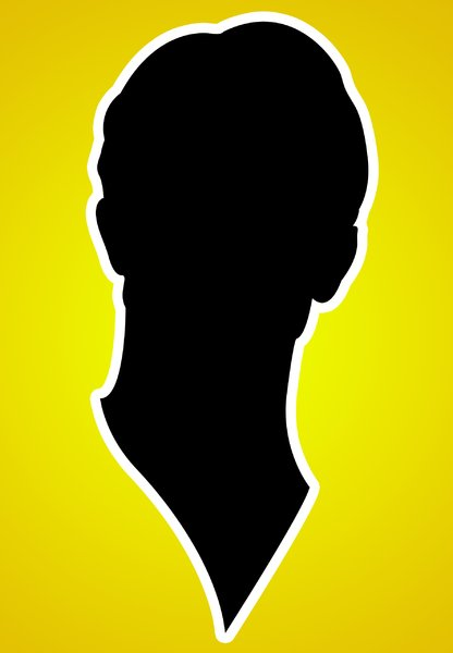 Face Silhouette: Series comprising Silhouettes of my face