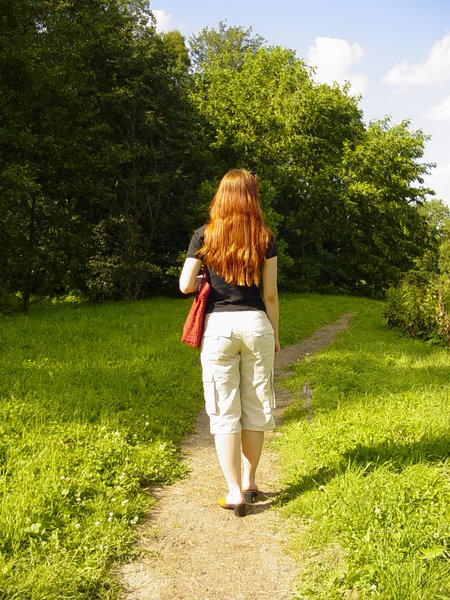Walk: Walk in the park - I miss summer so much!