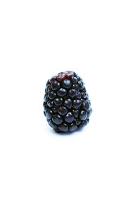 A blackberry.: One lonely blackberry.