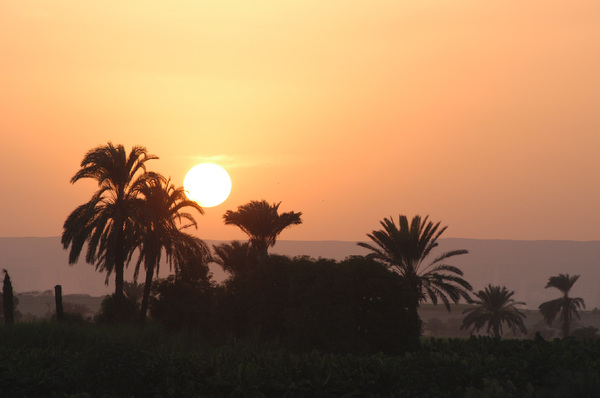 Sunset on the Nile: