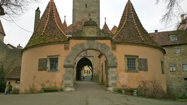Rothenburg ob der Tauber,: Rothenburg ob der Tauber Germany . Cityviews