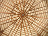 Ceiling: Ceiling made of indigenous materials