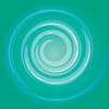Swirl background blue: Swirl background blue