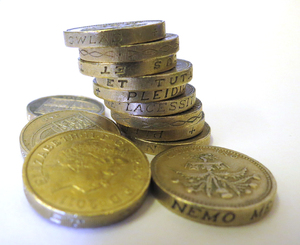 coins: UK sterling coins