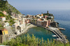 Vernazza at the Cinque Terre: View at the beautiful place of Vernazza, Italy