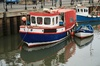 Small fishing boat: Small fishing boat in harbour