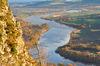 River Tay from Kinnoul: View down the River Tay from Kinnoul Hill