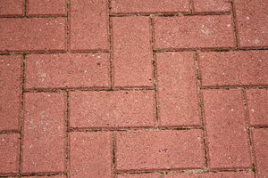 Monoblock paving: Texture or background from monoblock paving