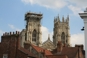 Cathedral: Views of York Minster cathedral in England