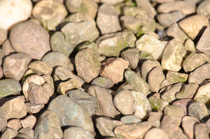 Pebble background: Pebbles forming a texture or background