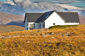 Highland Holiday House: Holiday house in the north west of Scotland, near Gairloch