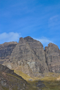Storr cliffs: Cliffs on
