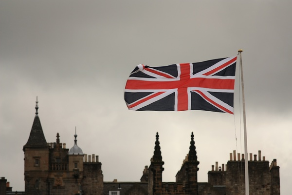 Union Jack over Edinburgh: Union Jack over Edinburgh