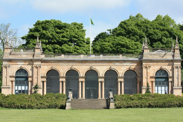 Victorian Park Pavilion: 19th Century pavilion in Baxter Park, Dundee, now used as a gallery, cafe and wedding venue