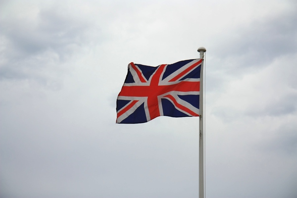 Union Jack flag: Union Jack/British flag