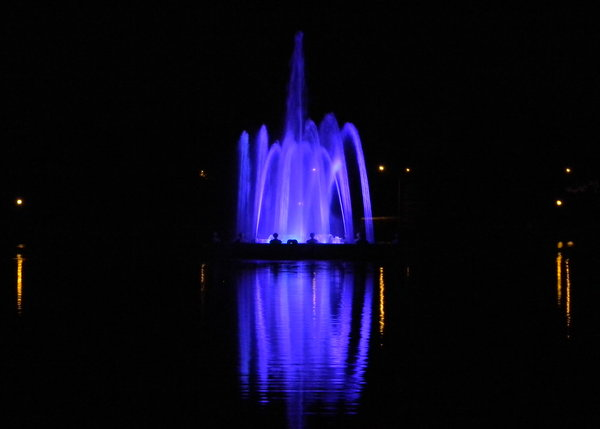 Denver City Park Fountain: The fountain in City Park, Denver, CO. 