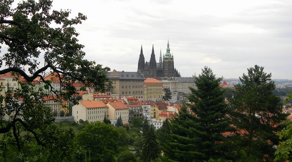 Prague Castle: Some shots of Prague Castle from Petrin Hill.