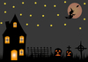 Halloween Night Scene 2: Halloween Night Scene 2