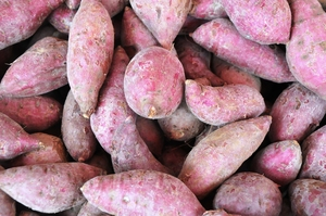 sweet potatoes: sweet potatoes