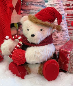 Christmas bear decoration: Christmas bear decoration