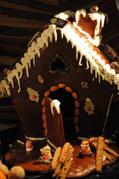 chocolate ginger bread house: chocolate ginger bread house
