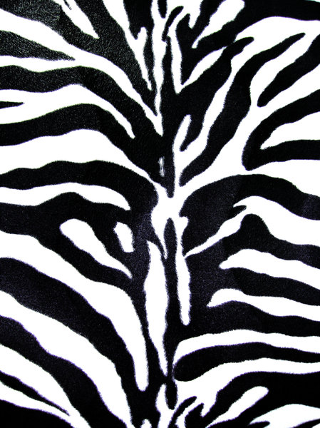 zebra skin: it is not  real leather, is  my office chair