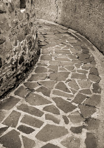stone path: pavement