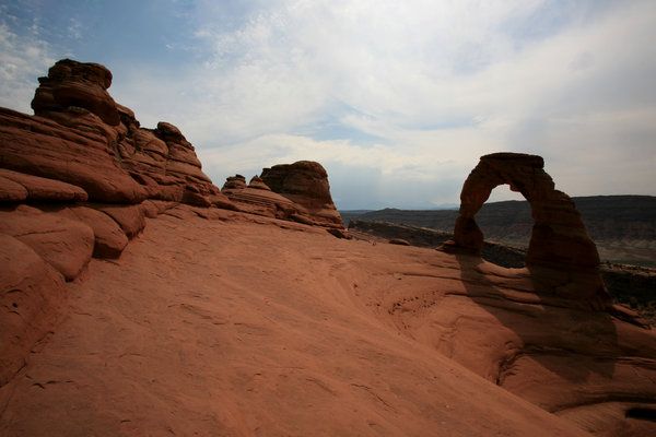 Arches 1: landscape of Arches National Park