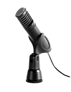 Stereo Microphone: A medium quality microphone suitable for recording voice of music.