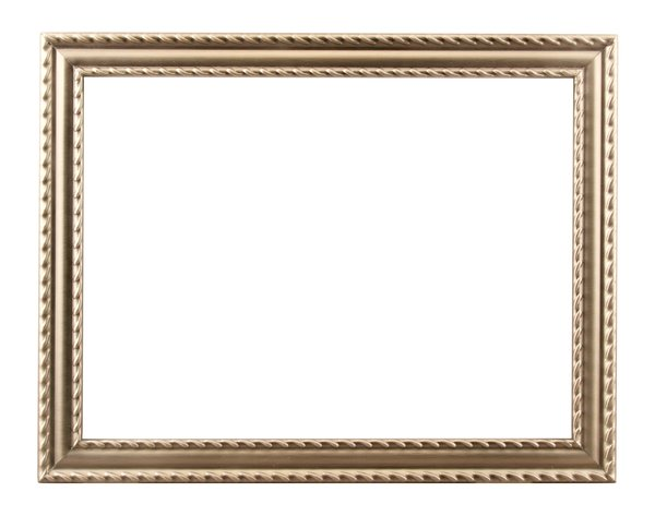 Embossed Metal Frame: One of a series of picture frames.