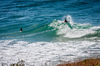 Surfing the break: Surfing Lennox Head NSW Australia