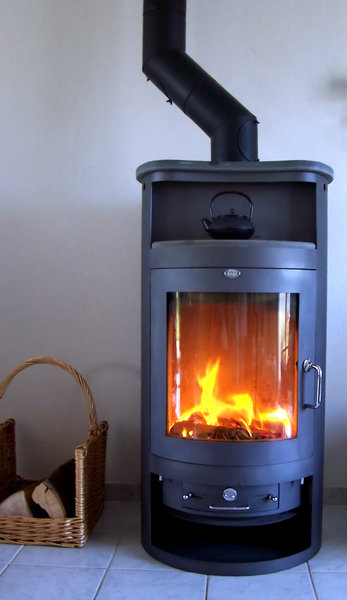 Fireplace 1: A real log fire to keep you warm during winter.