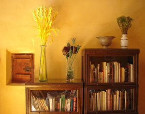 Country life: Inside a small rural hotel in Biar, Alicante.